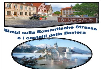 IMMAGINE COPERTINA Bimbi sulla Romantische Strasse e castelli della Baviera oriz(1)